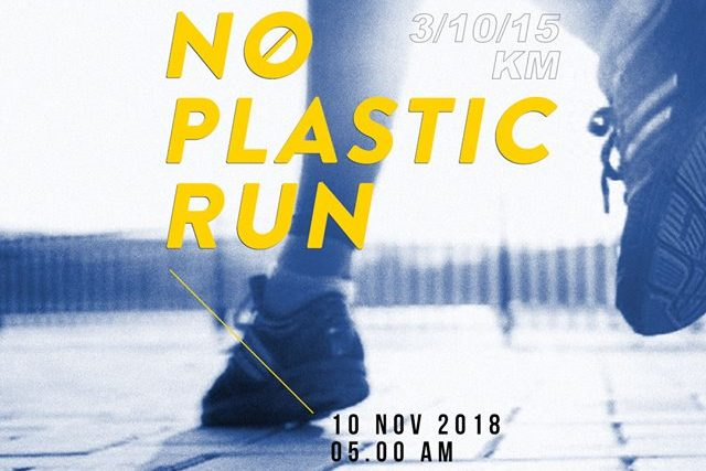 No Plastic Run 2018 Poster